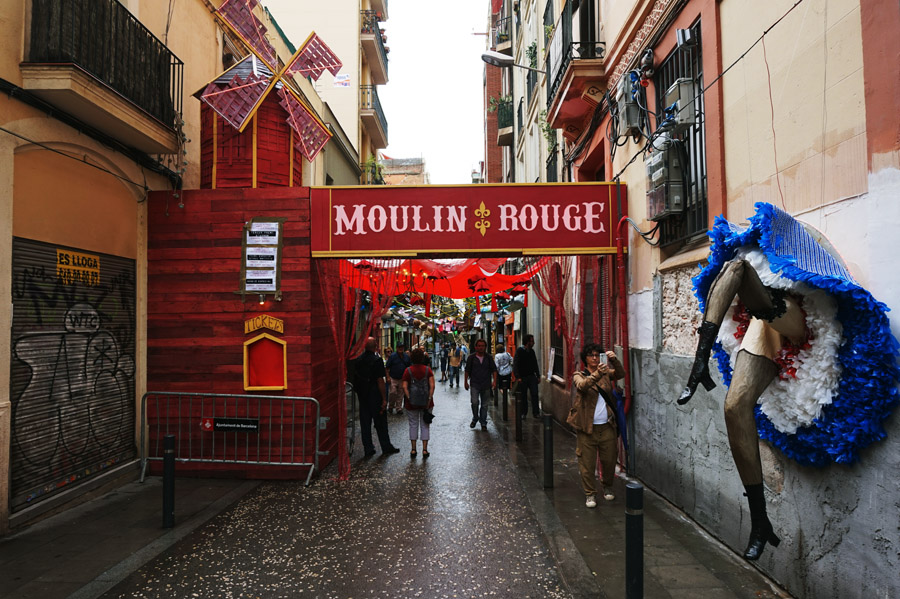 Moulin Rouge en Travessia de Sant Antoni